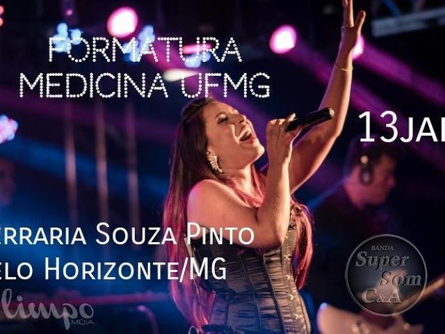 FORMATURA MEDICINA UFMG 13.01.2018 SERRARIA BH MG